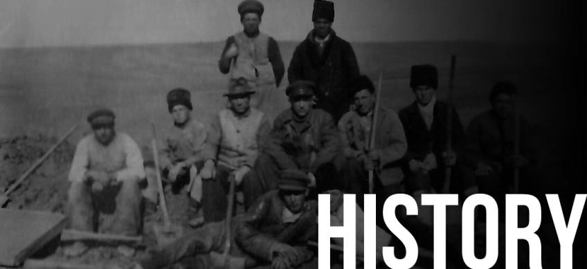 Первая послевоенная археологическая экспедиция в Молдове.