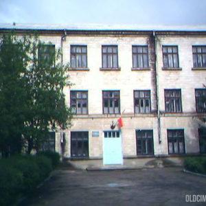 Молдавская средняя школа № 1 до ремонта. 2005 г. Фото: Вадим Гриб.