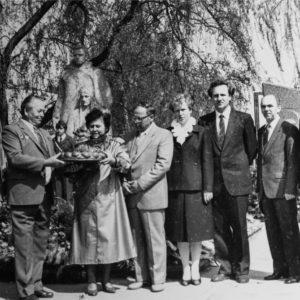 Мемориал. 9 мая 1987 г.  Фото из архива Леонида Ходько.