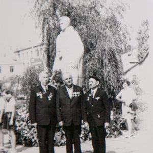 Мемориал. Май 1974 г.  Фото из архива Леонида Ходько.