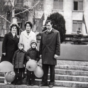 Демонстрация. 1977 г. Фото из архива Леонида Ходько.