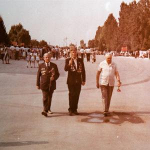Центральная площадь. Празднование 45-летия освобождения МССР. Август 1989 г. Фото из архива Леонида Ходько.