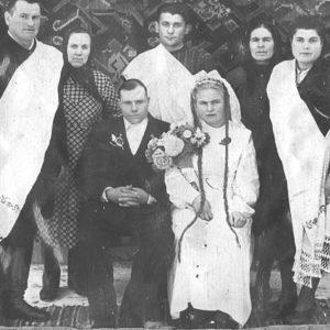 Типичная свадьба. Фото из семейного архива Анны Ашуровой.