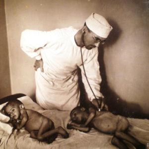 Детское отделение. 1947 г. Фото предоставил Сергей Балабан.