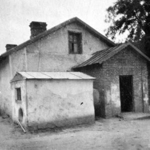 Первое отдельное здание хирургического отделения. 1950 г. Фото предоставил Сергей Балабан.
