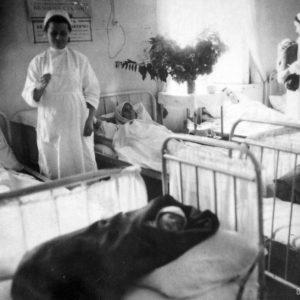 Роддом. 1944 г. Фото предоставил Сергей Балабан.