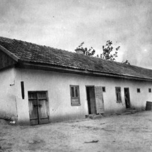 Хозяйственный двор. 1956 г. Фото предоставил Сергей Балабан.