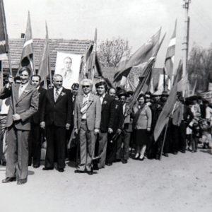 Демонстрация. Фото из архива Леонида Ходько.