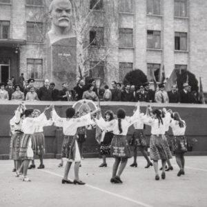 Демонстрация 1977 года. Фото из архива Леонида Ходько.