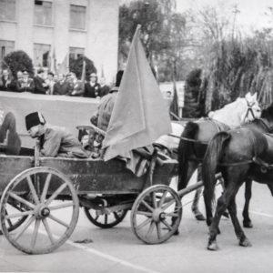 Демонстрация 1977 года. Фото из архива Леонида Ходько