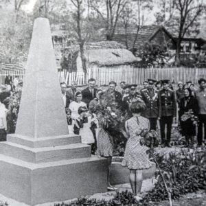 с. Албина. 9 мая. Фото из архива Леонида Ходько.