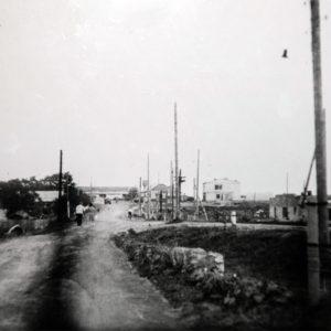 с. Албина. Дорога к центру села. 1973 г. Фото из архива Леонида Ходько.