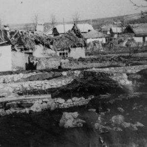 с. Гура Галбеней. Дом около чайной. После сноса, на его месте был построен сельсовет. 1964 г. Фото из архива Леонида Ходько.