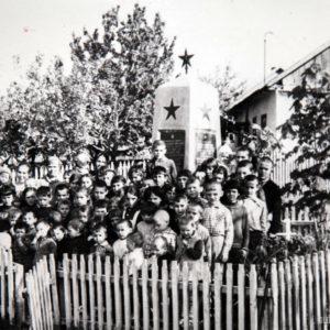 с. Фетица. Дети местного детсада. Август 1974 г. Фото из архива Леонида Ходько.