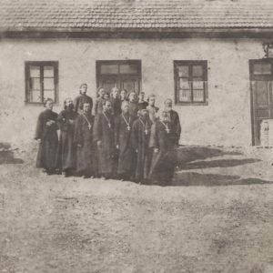 Священники. Село Злоць. 1942 год. Фото предоставил Константин Котруцэ.
