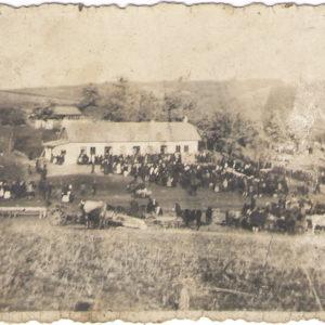 Село Злоць. 1942 год. Фото предоставил Константин Котруцэ.
