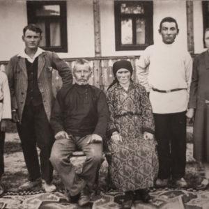 Семья Лыковых. Фото предоставила Марина Викторовна Федорова.