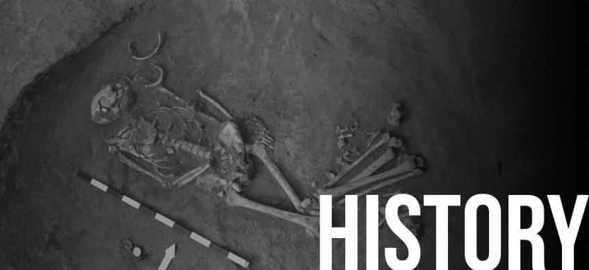 Спасательные археологические исследования кургана №8.