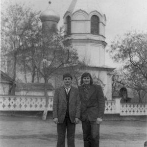 Максим Колца и Фёдор Кобзак. 1976 год. Источник: Иван Корнеску.