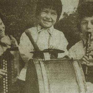Молодые музыканты. Школа искусств. 60-е. Источник: Иван Ганели.