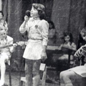 """Ансамбль """"Ромашка"""". Школа искусств. 80-е. Источник: Иван Ганели."""