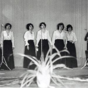 Выступление. Школа искусств. 70-е. Источник: Иван Ганели.