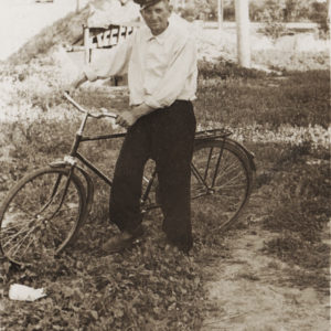 Кирилл Булат - участник второй мировой войны. После войны работал связистом в почтовом отделении Чимишлии. Источник: Адриан Пыслару.