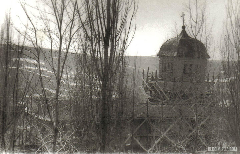Липовенская церковь в процессе реконструкции.