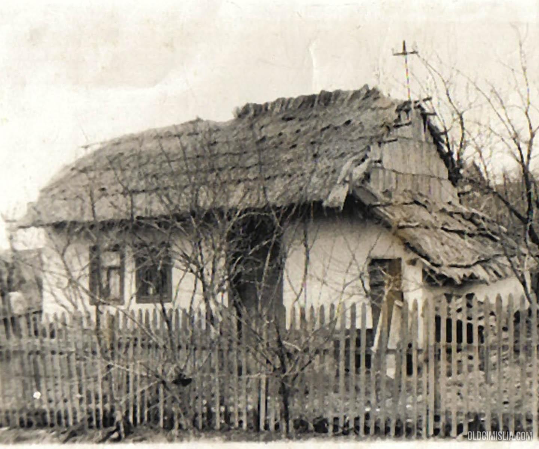Один из первых домов села.