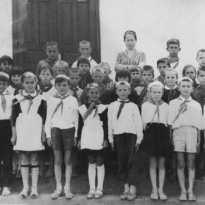 Школа-восьмилетка № 4. Чимишлия, Малина, 1968 - 1969 учебный год. Класс 3Б. Источник: Валерий Буцану.