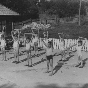 Физкультура в детском саду в селе Гура Галбеней. Источник: Кристиан Пэдурару.