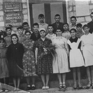 Средняя школа села Гура Галбеней. Источник: Кристиан Пэдурару.