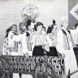 "TBK (аналог КВН) 1983 год. Команда совхоза ""Янтарный"" против команды местного колхоза."