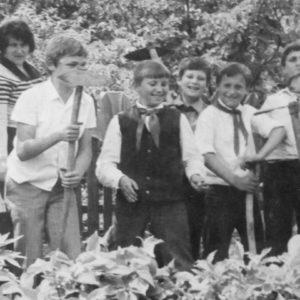 Ученики школы №2.