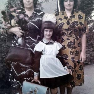 Антонина Илларионовна Марченко , Галина Ивановна Марченко и Екатерина. Источник: Екатерина Арамэ