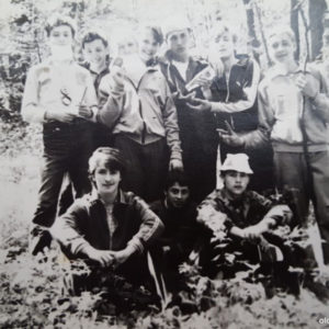 Ученики школы №2 во время похода. Источник: Оксана Якобицки.