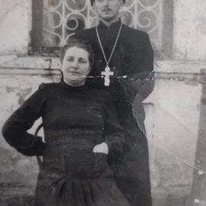 Отец Ион Брынзану с женой Марией. Источник: Валерий Грыу.